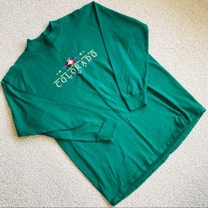 Tops - Embroidered Long Sleeved Shirt